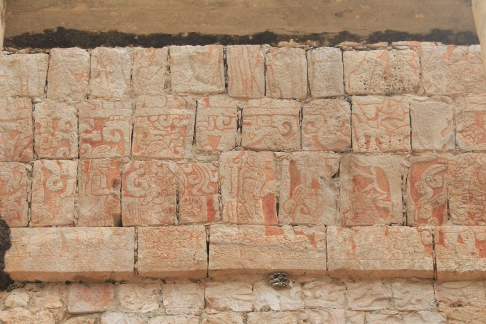 stone carvings chichen itza 700x467 - 24 hours in Cancun, Mexico – A trip to Chichen Itza