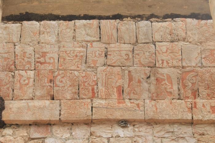 stone carvings chichen itza 700x467 - 24 hours in Chichen Itza, Mexico