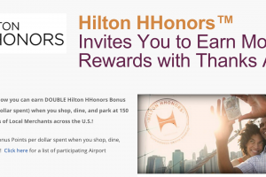 thanks again hilton 300x200 - Get a quick free 200 Hilton HHonors points