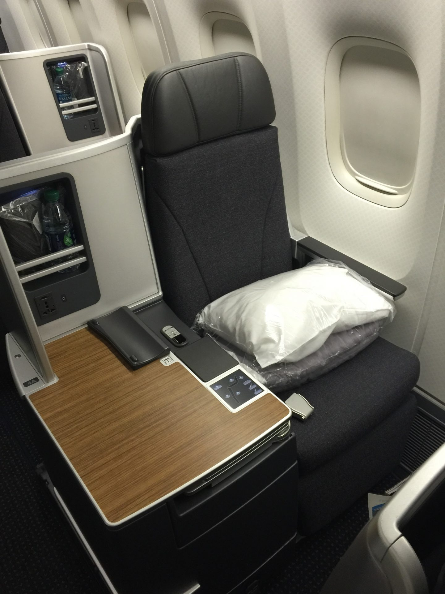 American Airlines Business Class Boeing 767 300 New York