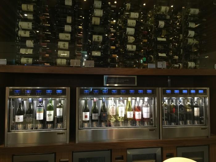amex centurion lounge sfo wine tasting 700x525 - American Express Centurion Lounge San Francisco SFO review