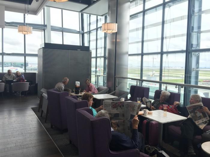 aspire lounge london heathrow 700x525 - Aspire Lounge London Heathrow LHR Terminal 5 review