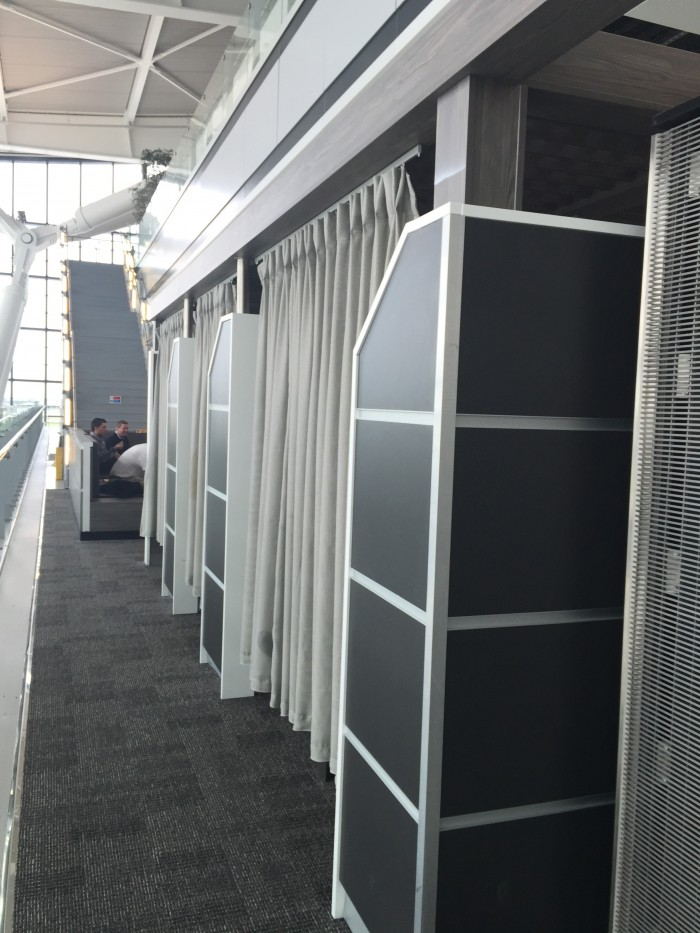aspire lounge rest pods 700x933 - Aspire Lounge London Heathrow LHR Terminal 5 review