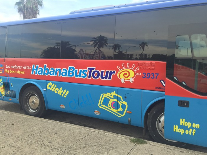 bus to fusterlandia 700x525 - A guide to visiting Fusterlandia in Havana, Cuba