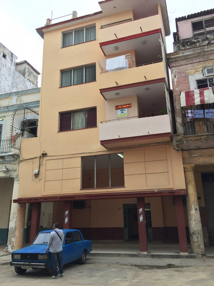 casa maura havana 700x933 - Staying in a Cuban casa particular - Casa Maura in Havana, Cuba review