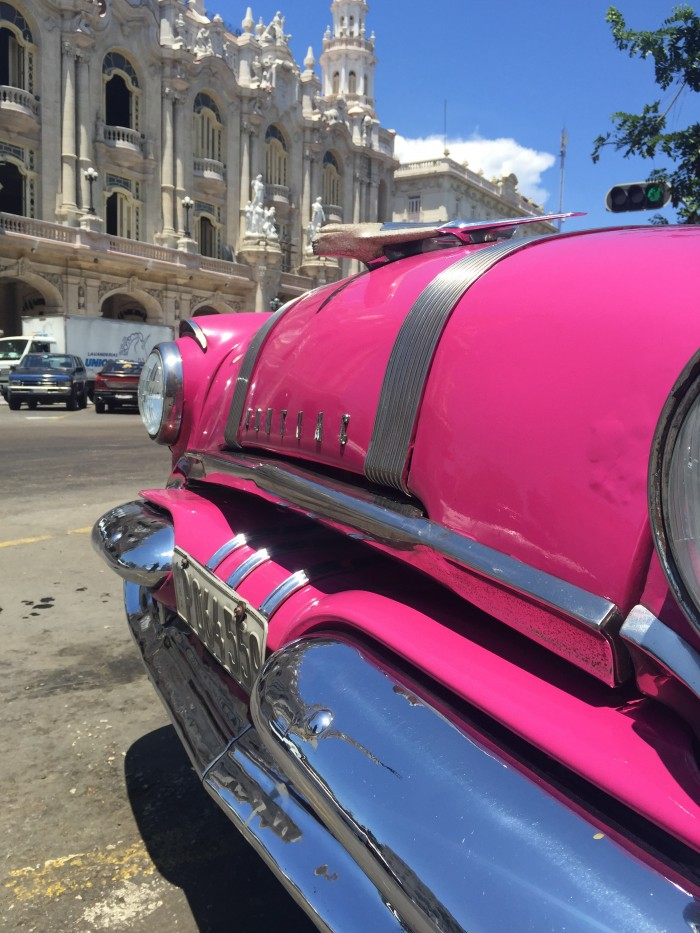 classic car havana vieja 700x933 - Top 10 things to do in Havana Vieja, Cuba