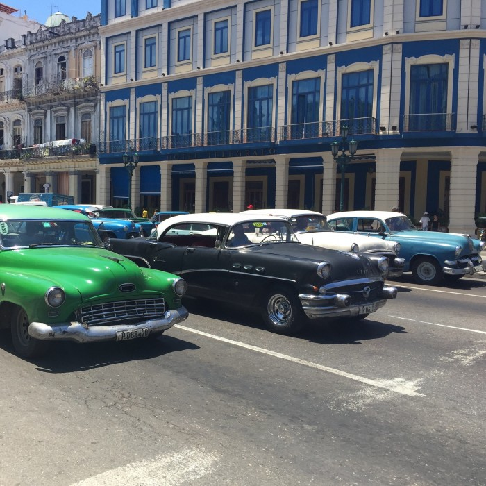 classic cars havana 700x700 - Top 10 things to do in Havana Vieja, Cuba