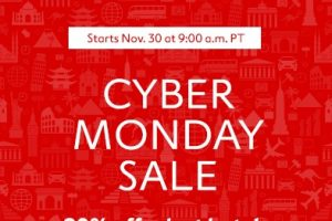expedia cyber monday 300x200 - Expedia Cyber Monday sale - Up to 90% off hotels each hour