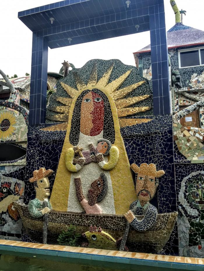 fusterlandia mosaic 700x933 - A guide to visiting Fusterlandia in Havana, Cuba