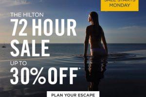 hilton cyber monday sale 300x200 - Hilton Cyber Monday flash sale - Save up to 30%