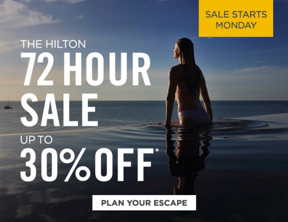 hilton cyber monday sale - Hilton Cyber Monday flash sale - Save up to 30%