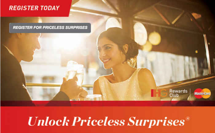 ihg priceless surprises 700x434 - IHG announces winter Priceless Surprises promotion, possibility of almost free points?