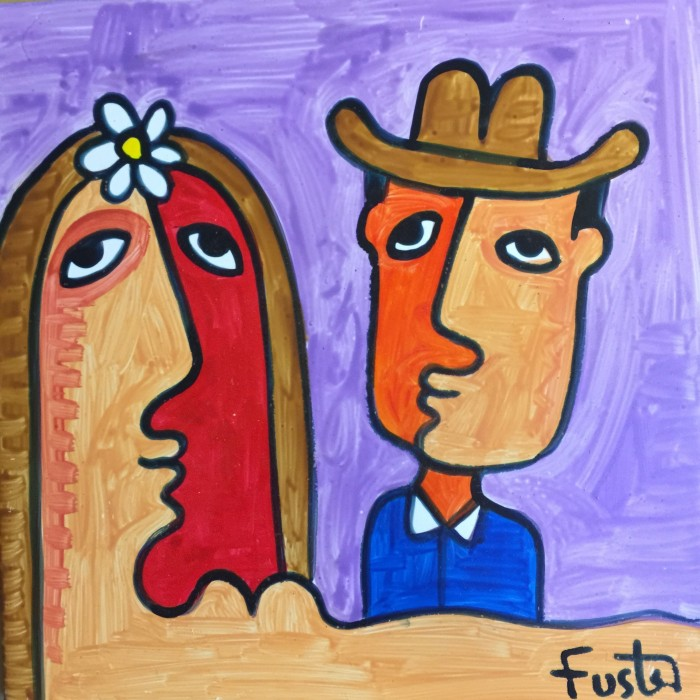 jose fuster tile painting 700x700 - A guide to visiting Fusterlandia in Havana, Cuba