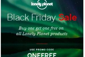 lonely planet black friday 300x200 - Lonely Planet Black Friday sale - Buy one, get one free