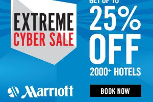 marriott black friday sale 300x200 - Marriott Black Friday sale: Save up to 25% off best available rate