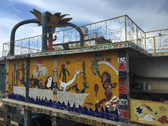 mosaics fusterlandia 700x525 - A guide to visiting Fusterlandia in Havana, Cuba