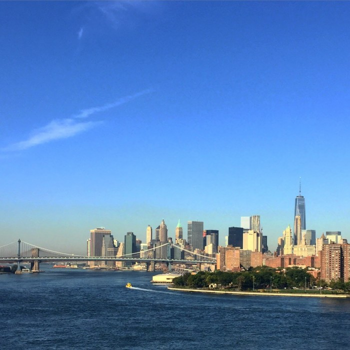 new york skyline from williamsburg bridge 700x700 - Travel Contests: June 21, 2017 - Portugal, NYC, St. Croix, & more