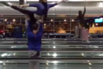 ballet dancers denver airport 150x100 - Ballet dancers perform in Denver airport during layover