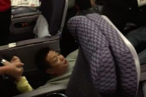 chinese man kicked off plane upgrade first class 300x200 - Man dragged off United flight in China for trying to treat himself to free upgrade