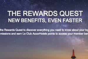 club accor hotels rewards quest 300x200 - Earn 1,100 free Le Club AccorHotels points in the Rewards Quest