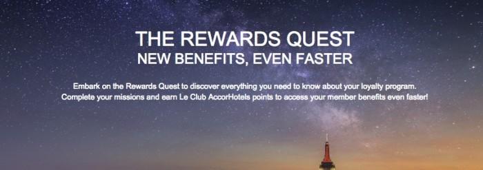 club accor hotels rewards quest 700x247 - Earn 1,100 free Le Club AccorHotels points in the Rewards Quest