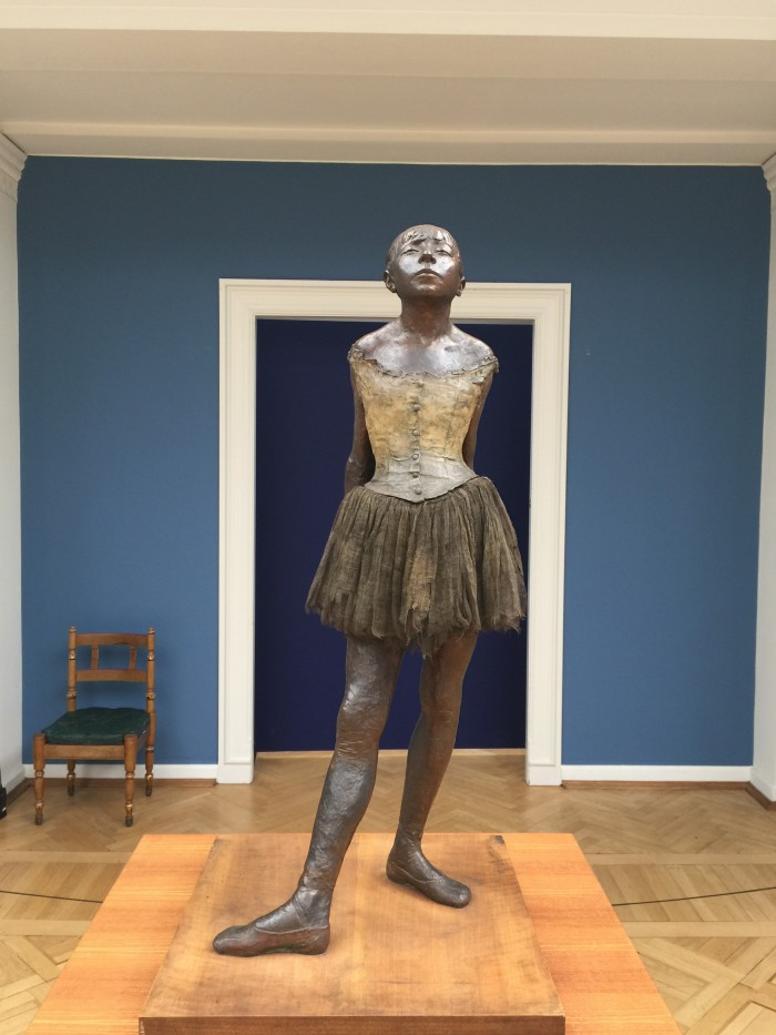 degas little dancer fourteen years 700x933 - Copenhagen, Denmark - Museums on a rainy day