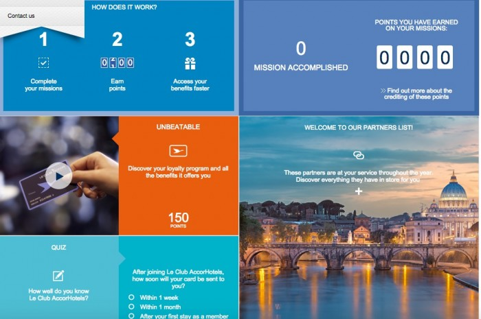 free accor hotels points 700x465 - Earn 1,100 free Le Club AccorHotels points in the Rewards Quest