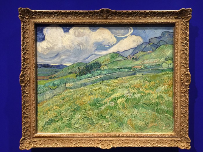 van gogh mountainous landscape behind saint paul hospital 700x525 - Copenhagen, Denmark - Museums on a rainy day