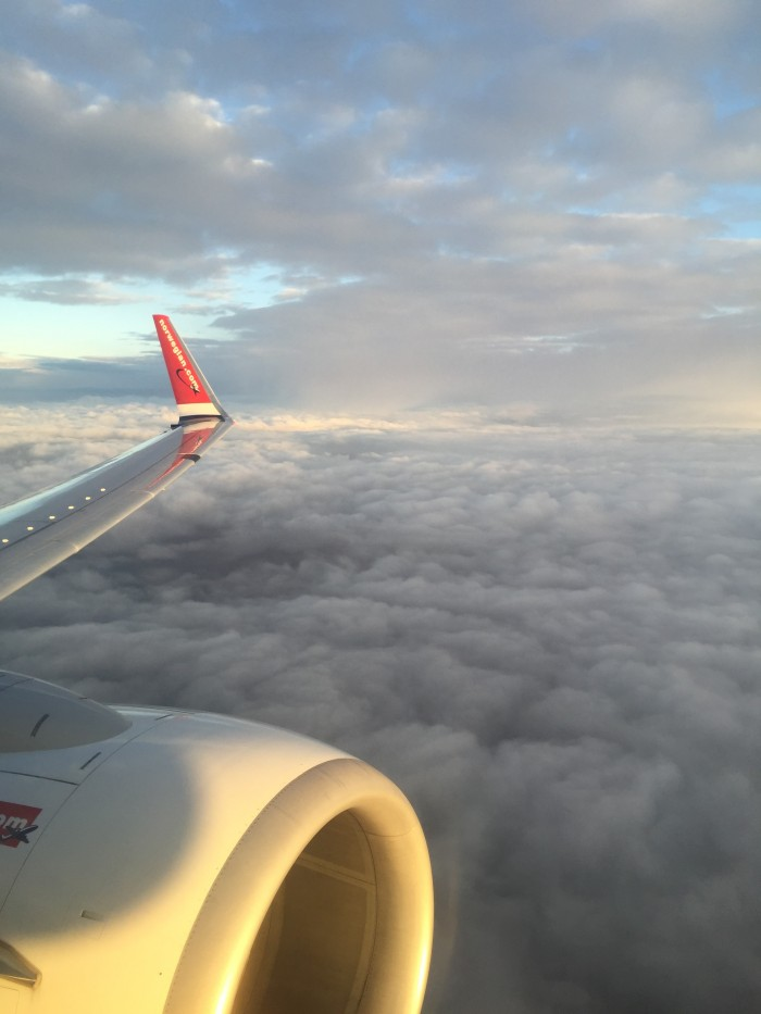 Norwegian Air Economy Class Boeing 737-800 Copenhagen CPH to