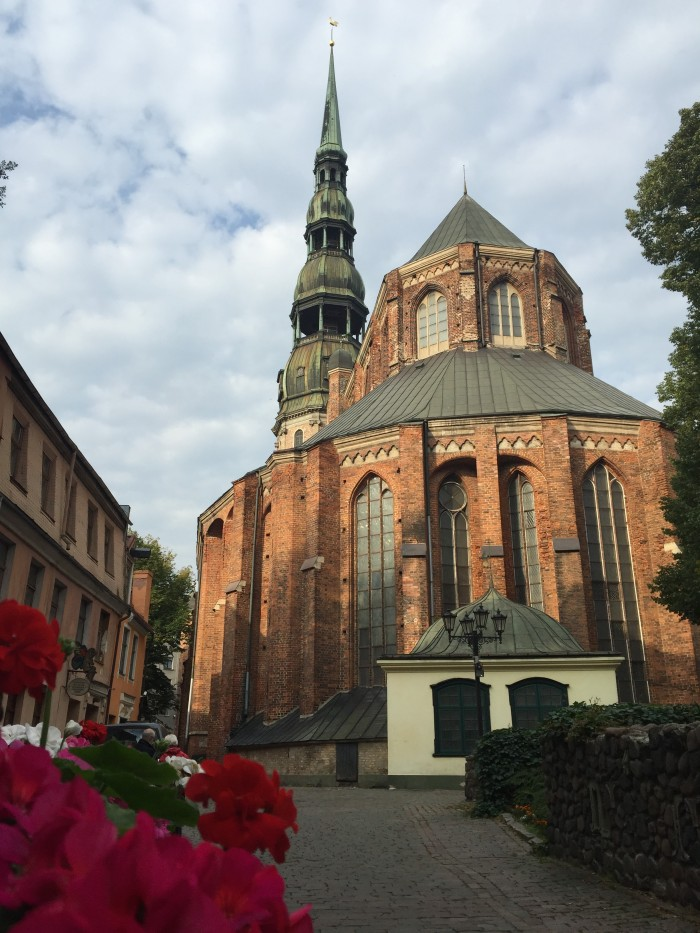 st peters church riga 700x933 - Exploring the Old Town in Riga, Latvia
