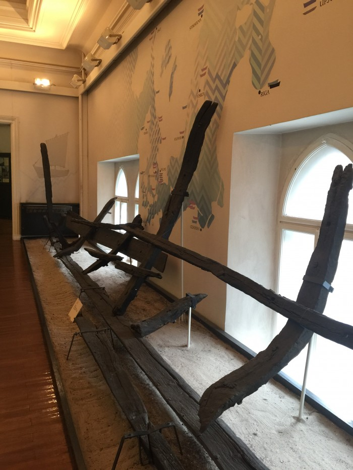 13th century latvian ship 700x933 - The best museums in Riga, Latvia