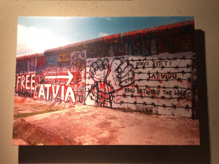 berlin wall free latvia 700x525 - Riga, Latvia - Museums & a tough 20th century