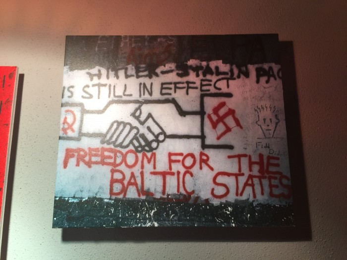 berlin wall freedom for the baltic states 700x525 - Riga, Latvia - Museums & a tough 20th century