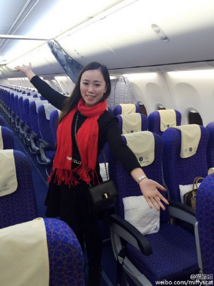 chinese new year only passenger 700x933 - Travel heaven: Woman gets private flight on one of the busiest days of the year