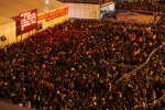 chinese new year train station crowd 150x100 - Travel nightmare: 100,000 people stuck at Chinese train station