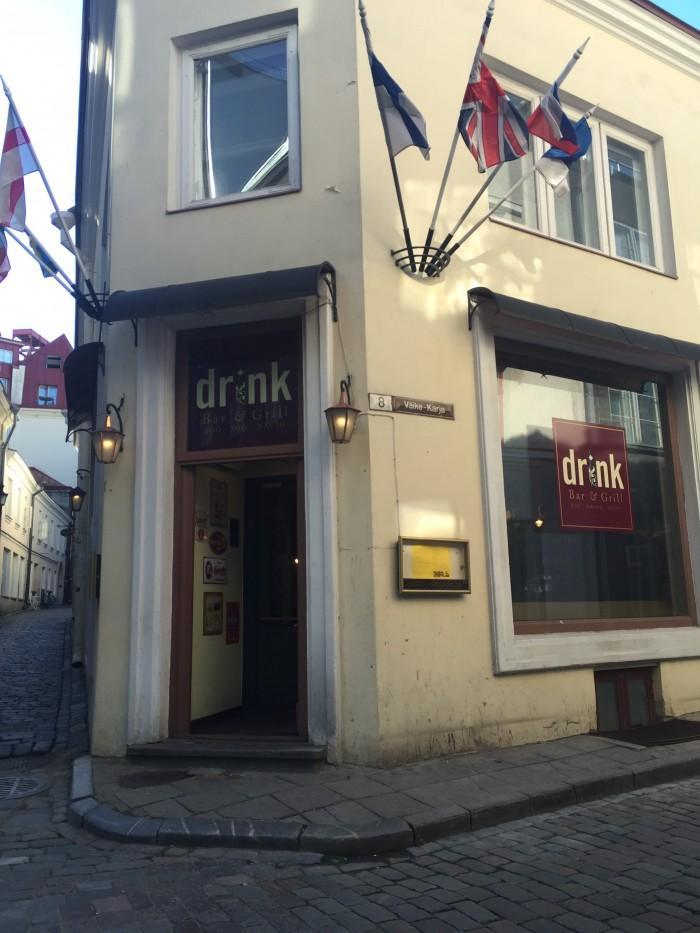 drink bar grill 700x933 - The best craft beer in Tallinn, Estonia
