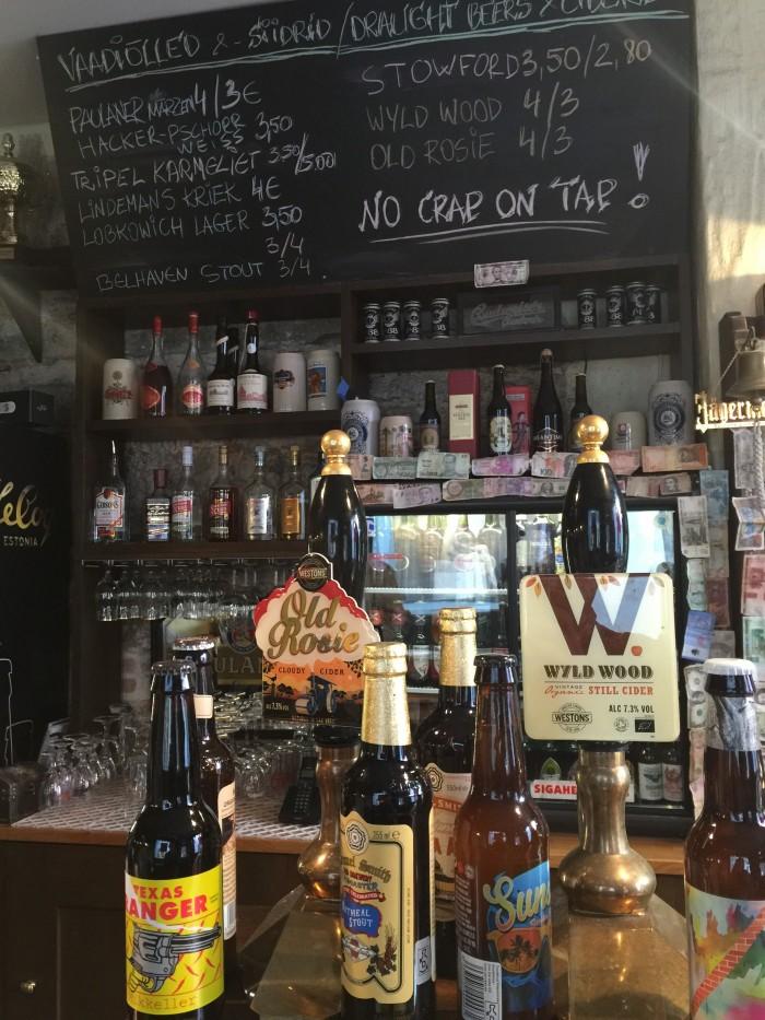 drink bar tallinn 700x933 - The best craft beer in Tallinn, Estonia