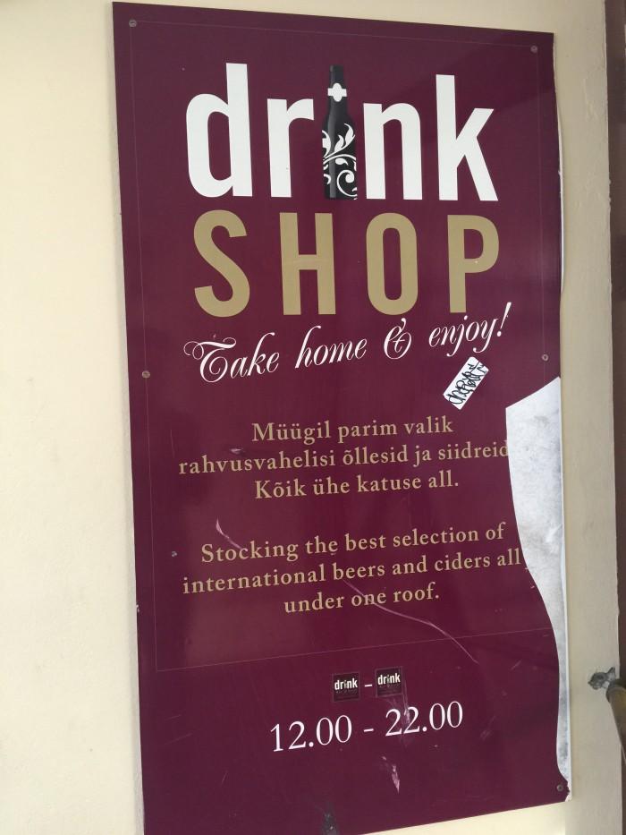 drink bottle shop tallinn 700x933 - The best craft beer in Tallinn, Estonia