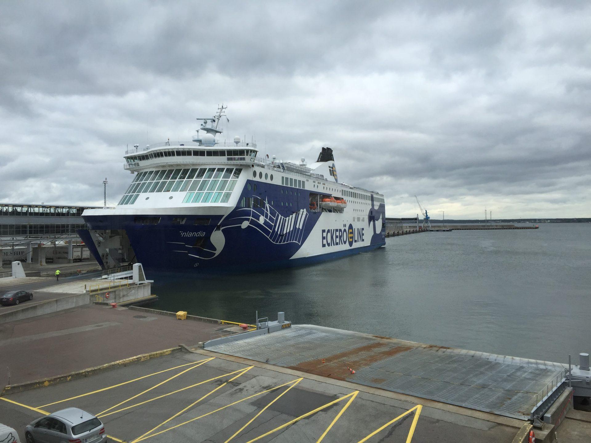 Eckero Finlandia Ferry Tallinn Estonia To Helsinki