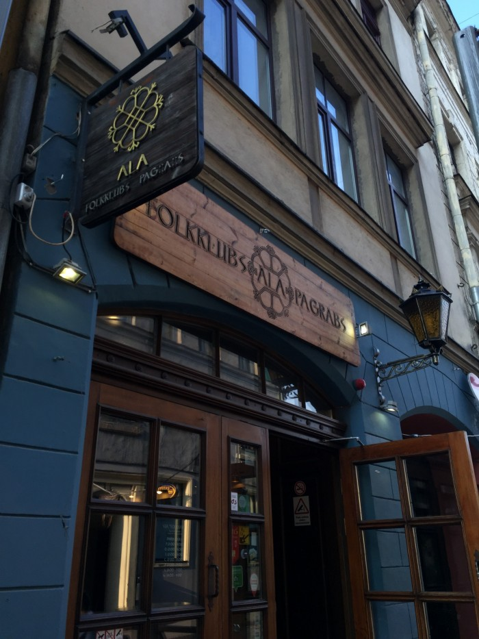 folkklubs ala pagrabs 700x933 - The best craft beer in Riga, Latvia
