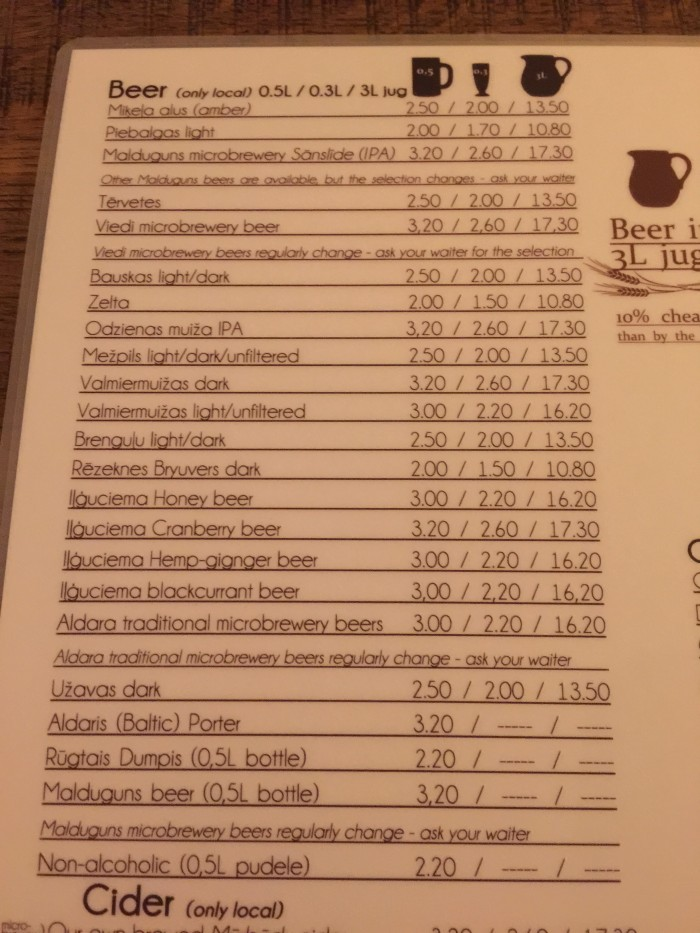 folkklubs ala pagrabs beer 700x933 - The best craft beer in Riga, Latvia