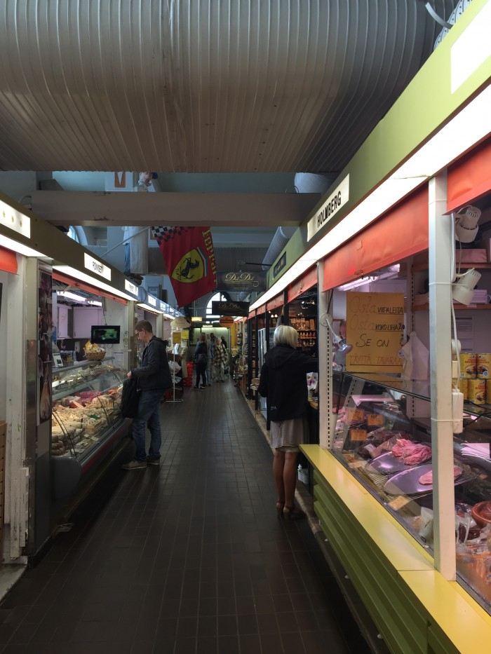 hakaniemi market hall stalls 700x933 - Exploring the food markets & city centre of Helsinki, Finland