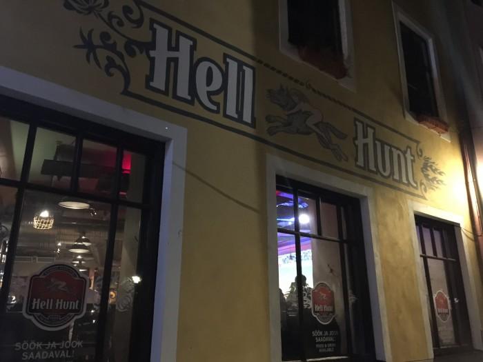 hell hunt 700x525 - The best craft beer in Tallinn, Estonia