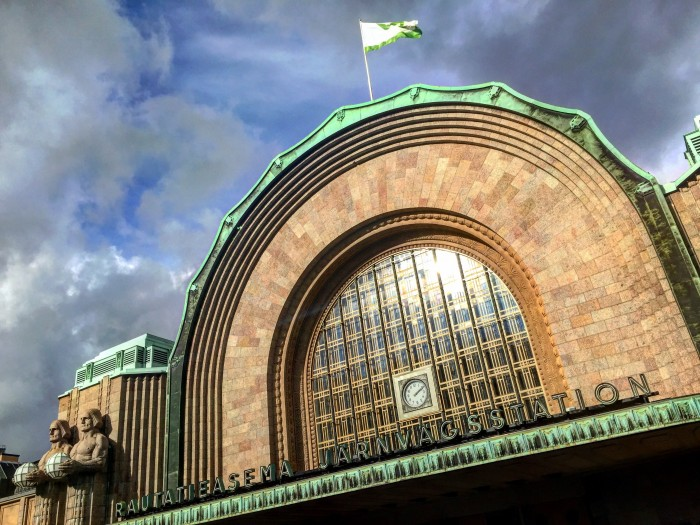 helsinki train station 700x525 - Exploring the food markets & city centre of Helsinki, Finland