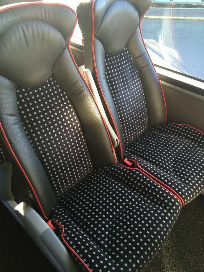 lux express seats 700x933 - Lux Express Riga, Latvia to Tallinn, Estonia review