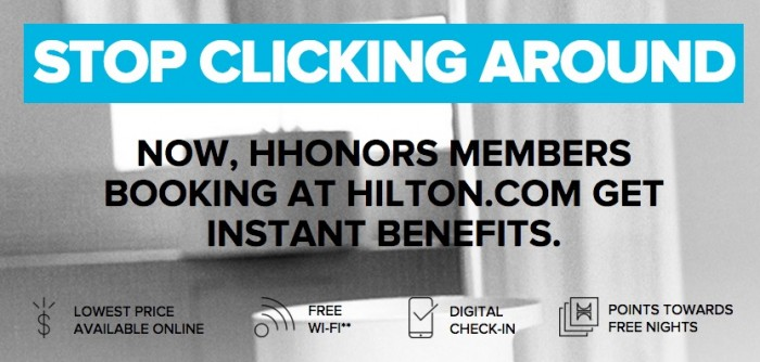 new hilton hhonors benefits 700x334 - Hilton benefits for HHonors members who book directly