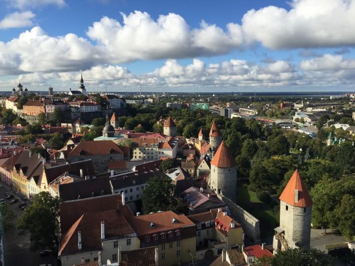 old town tallinn 700x525 - Exploring the views of the Old Town Tallinn, Estonia