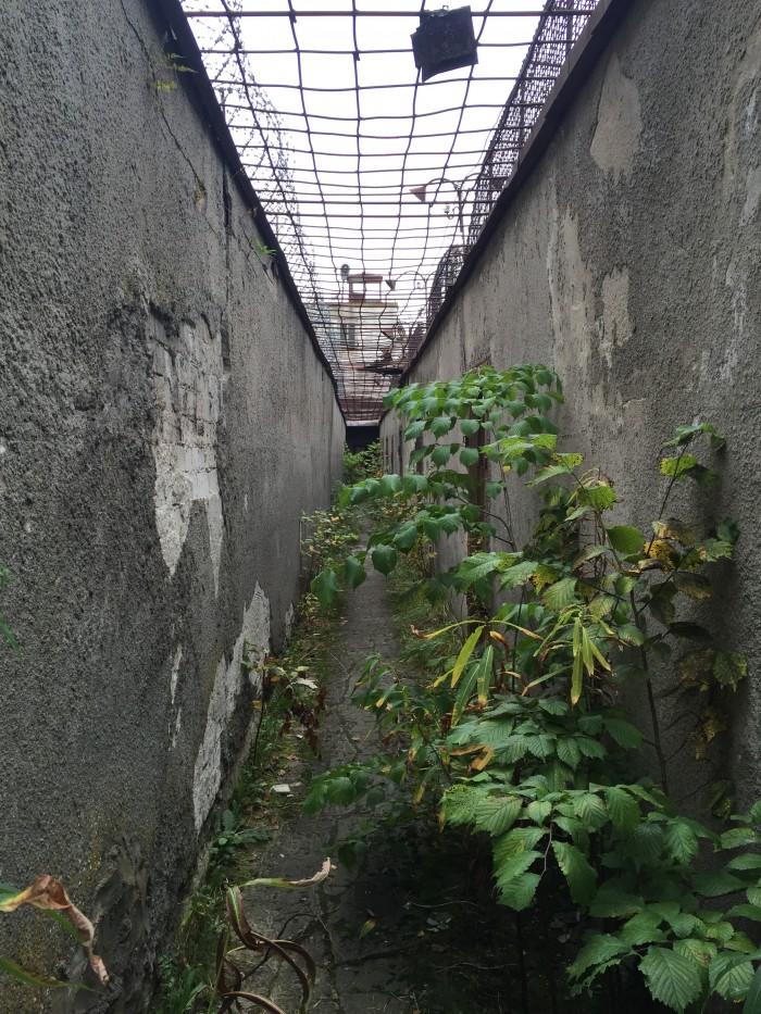patarei prison courtyard 700x933 - A visit to Patarei Prison in Tallinn, Estonia
