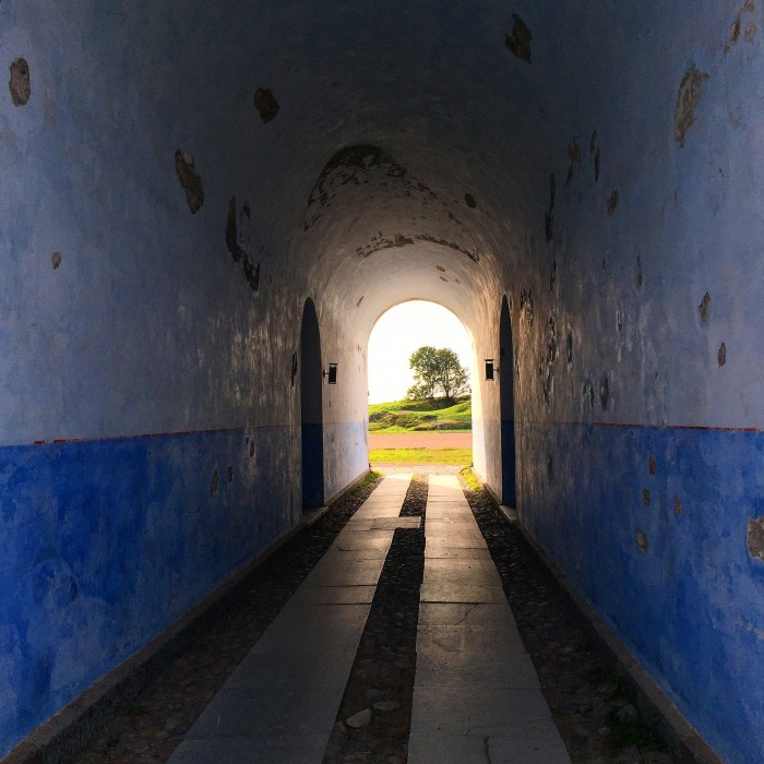suomenlinna tunnel 700x700 - Exploring the Suomenlinna Sea Fortress in Helsinki, Finland
