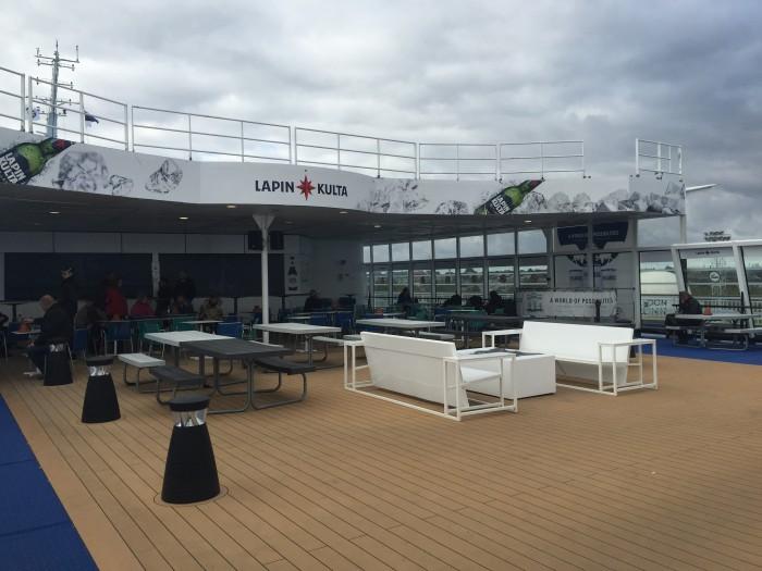 tallinn helsinki ferry deck 700x525 - Eckero Finlandia ferry Tallinn, Estonia to Helsinki, Finland review